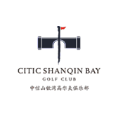 Logo of golf course named Shanqin Bay Golf Club