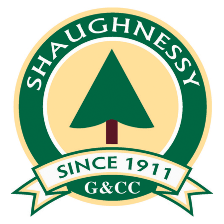 Logo of golf course named Shaughnessy Golf and Country Club