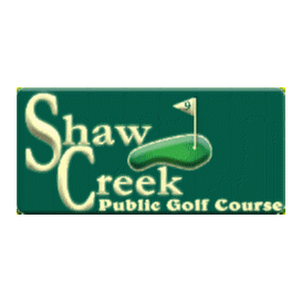 Logo of golf course named Shaw Creek Golf Course