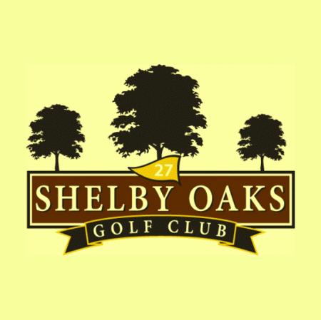 Logo of golf course named Shelby Oaks Golf Course