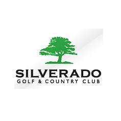 Logo of golf course named Silverado Golf and Country Club
