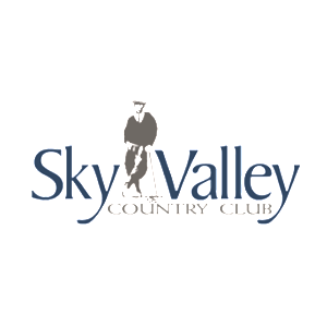 Logo of golf course named Sky Valley Resort