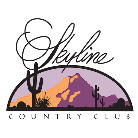 Logo of golf course named Skyline Country Club