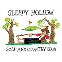 Logo of golf course named Sleepy Hollow Golf and Country Club