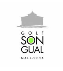 Logo of golf course named Son Gual Golf S.l.