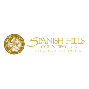 Logo of golf course named Spanish Hills Golf and Country Club