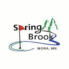 Logo of golf course named Spring Brook Golf Course