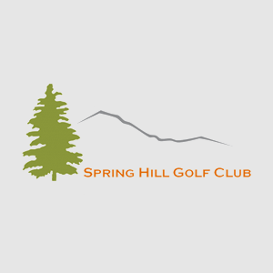 Logo of golf course named Spring Hill Country Club