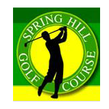 Logo of golf course named Spring Hill Municipal Golf Course