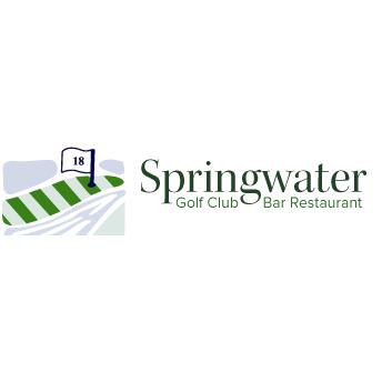 Logo of golf course named Springwater Golf Club