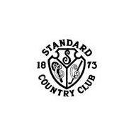 Logo of golf course named Standard Country Club, The