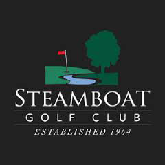Logo of golf course named Steamboat Golf Club