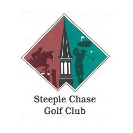 Logo of golf course named Steeple Chase Golf Club