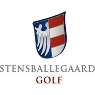 Logo of golf course named Stensballegaard Golf