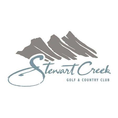 Logo of golf course named Stewart Creek Golf Resort
