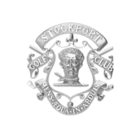 Logo of golf course named Stockport Golf Club