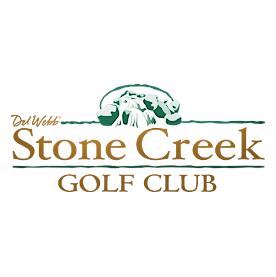 Logo of golf course named Stone Creek Golf Club