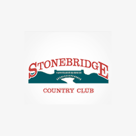 Logo of golf course named Stonebridge Country Club