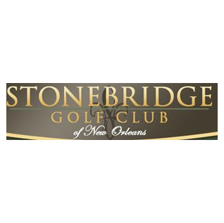 Logo of golf course named Stonebridge Golf Club of New Orleans