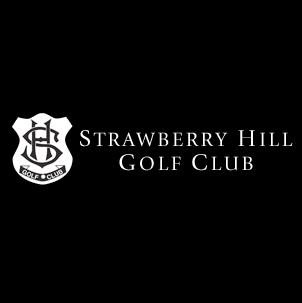 Logo of golf course named Strawberry Hill Golf Club