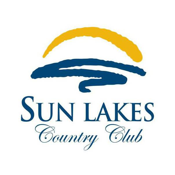 Logo of golf course named Sun Lakes Country Club