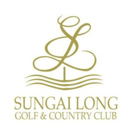 Logo of golf course named Sungai Long Golf and Country Club
