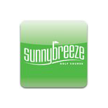 Logo of golf course named Sunnybreeze Palms Golf Course