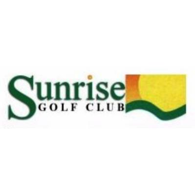 Logo of golf course named Sunrise Golf Course