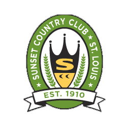Logo of golf course named Sunset Country Club