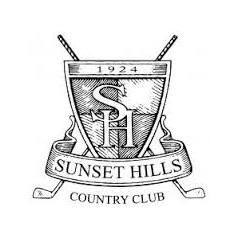 Logo of golf course named Sunset Hills Country Club