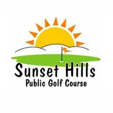 Logo of golf course named Sunset Hills Golf Course