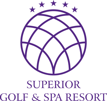 Logo of golf course named Superior Golf and Spa Resort