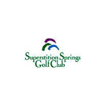 Logo of golf course named Superstition Springs Golf Club