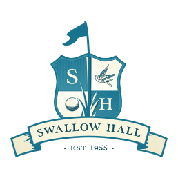 Logo of golf course named Swallow Hall Golf Club