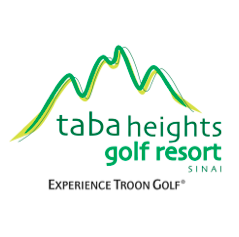 Logo of golf course named Taba Heights Golf Resort