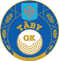 Logo of golf course named Taby Golfklubb