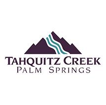 Logo of golf course named Tahquitz Creek Golf Resort