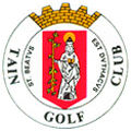 Logo of golf course named Tain Golf Club