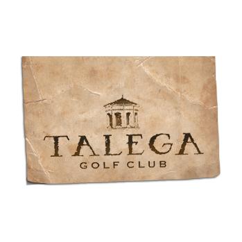 Logo of golf course named Talega Golf Club
