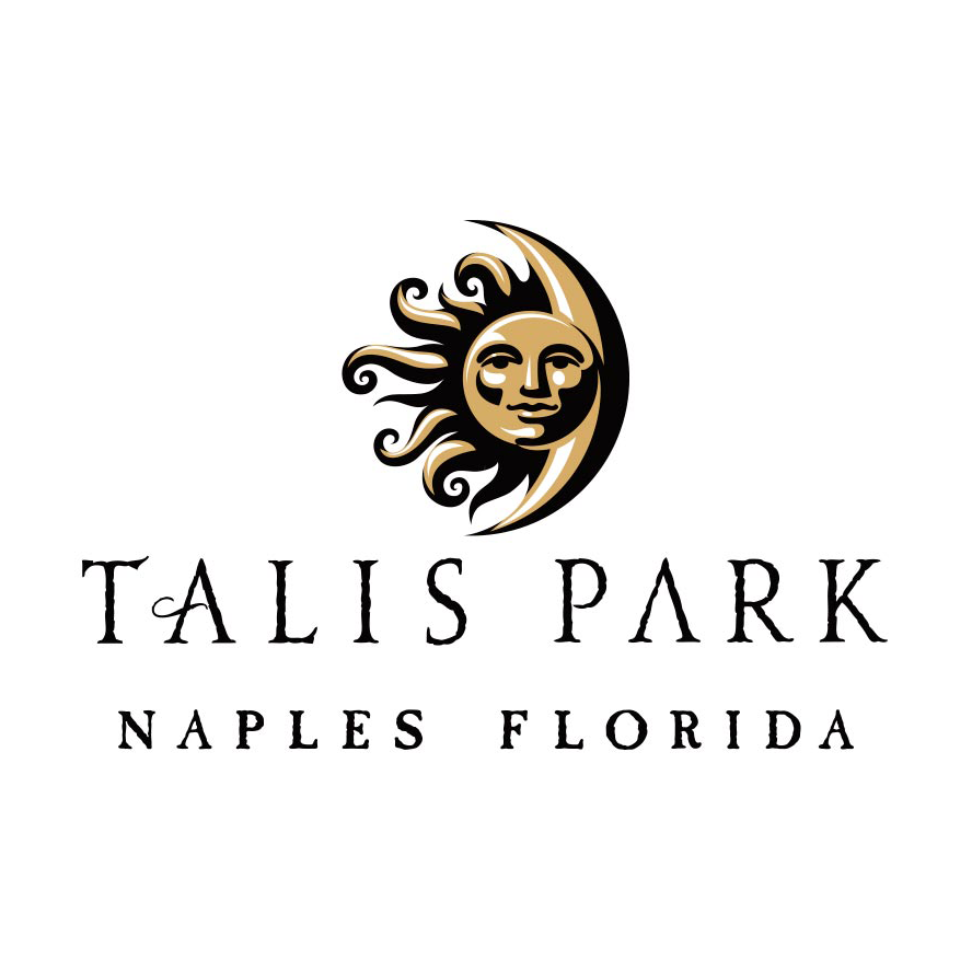 Logo of golf course named Talis Park Golf Club