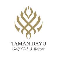 Logo of golf course named Taman Dayu