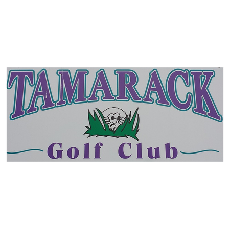 Logo of golf course named Tamarack Golf Club