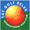 Logo of golf course named Tat International Golf Club