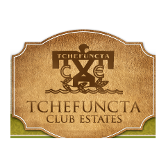 Logo of golf course named Tchefuncta Country Club