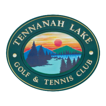 Logo of golf course named Tennanah Lake Golf and Tennis