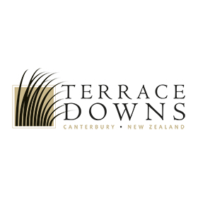 Logo of golf course named Terrace Downs High Country Resort and Golf Club