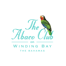 Logo of golf course named The Abaco Club on Winding Bay's