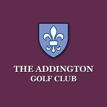Logo of golf course named The Addington Golf Club