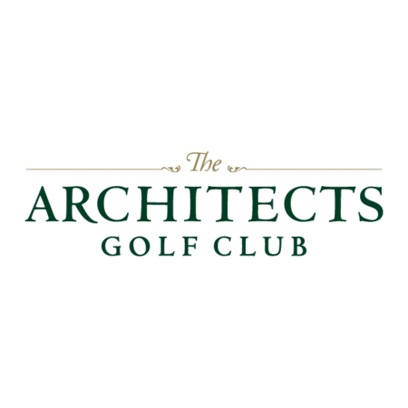 Logo of golf course named The Architects Golf Club