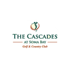 Logo of golf course named The Cascades at Soma Bay Golf and Country Club